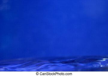 blauw water, achtergrond
