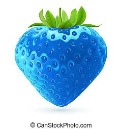 blauwe , aardbei