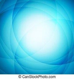blauwe , abstract, cirkel, achtergrond