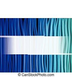 blauwe , abstract, lijnen, achtergrond