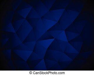 blauwe , abstract, textuur, veelhoek, achtergrond