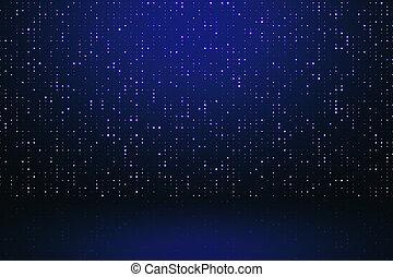 blauwe achtergrond, digitale
