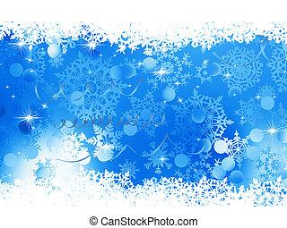 blauwe , achtergrond., eps, kerstmis, 8