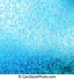 blauwe , achtergrond., geometrisch, abstract