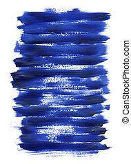 blauwe , acryl, textuur