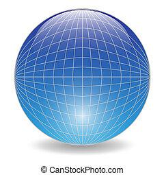 blauwe bal
