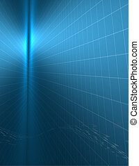blauwe , binair