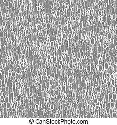 blauwe , binaire code, algorithm, decryption, encoding.,...