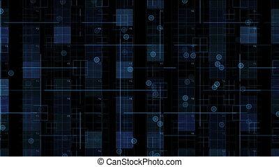 blauwe , black , verhuizing, getallen, achtergrond