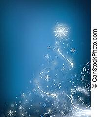 blauwe , boompje, cristmas