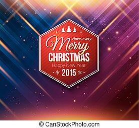 blauwe , card., paarse , abstract, achtergrond, gestreepte , kerstmis