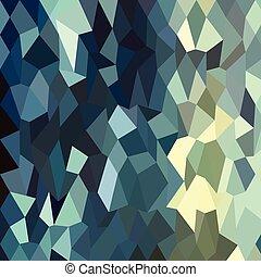 blauwe , catalina, veelhoek, abstract, laag, achtergrond
