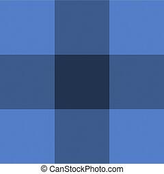 blauwe , checkered, weefsel, textile., vector, achtergrond, textuur