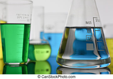 blauwe , chemisch, industrie, magenta, bol