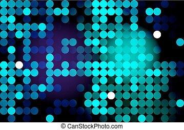 blauwe , cirkels, neon, achtergrond
