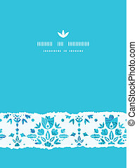 blauwe , decoratief, verticaal, damast, model, abstract, gescheurd, seamless, achtergrond