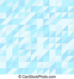 blauwe driehoek, pattern., seamless, achtergrond, geometrisch