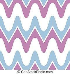 blauwe , eenvoudig, model, seamless, paarse , scalloped