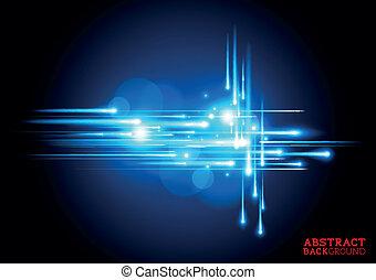 blauwe , elektrisch, achtergrond