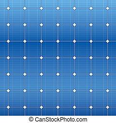 blauwe , elektrisch, pattern., vector, zonnepaneel