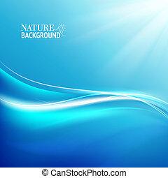 blauwe , flow., het glanzen