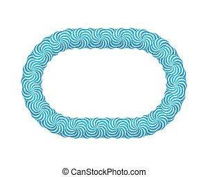 blauwe , frame, lollipop
