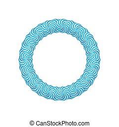 blauwe , frame, lollipops