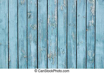 blauwe , geverfde, grondslagen, houten