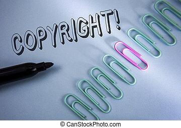 blauwe , gezegde, concept, auteursrecht, nee, piraterij, tekst, motivational, betekenis, intellectueel, volgende, klemmen, eigendom, geschreven, papier, achtergrond, vlakte, teken, handschrift, call., it.