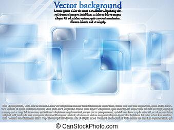 blauwe , glanzend, hi-tech, achtergrond