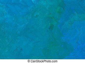 blauwe , gouache, textuur