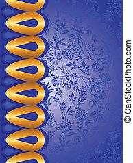 blauwe , gouden, communie, achtergrond