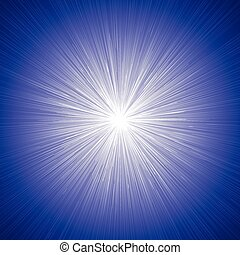 blauwe , grafisch, lijnen, effecte, achtergrond, radiaal, snelheid