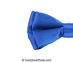 blauwe , helft, tie., boog