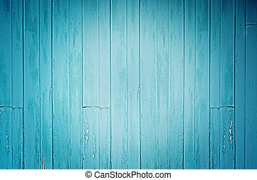 blauwe , hout, oud, achtergrond