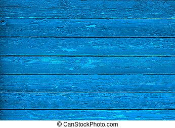 blauwe , hout, vintage., textuur, scuffs.
