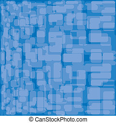 blauwe , illustration., abstract, achtergrond., vector, set.