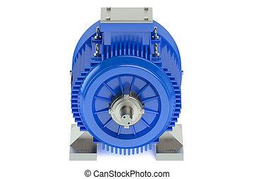 blauwe , industriebedrijven, elektromotor