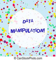 blauwe , inkblots, concept, proces, tekst, maken, verspreid, informatietechnologie, veelkleurig, randomly, achtergrond., betekenis, lezen, manipulation., confetti, het veranderen, handschrift, data, easier, ronde