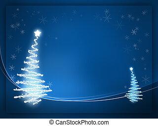 blauwe , kerstmis