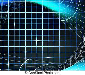 blauwe , laser, achtergrond