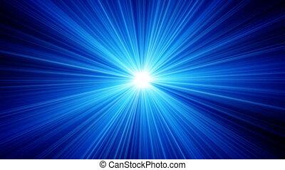 blauwe lichten