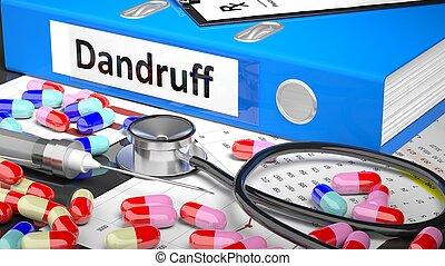 blauwe , medicaments, medisch, supplies., arts, tafel, map
