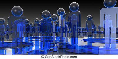 blauwe , medische wetenschap, achtergrond