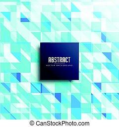 blauwe , model, abstract, driehoeken, achtergrond