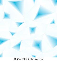 blauwe , model, abstract, driehoekig, oppervlakte, seamless, vector