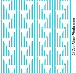 blauwe , model, abstract, seamless, gestreepte , driehoeken
