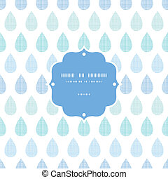 blauwe , model, abstract, strepen, regen, seamless, textiel, achtergrond, druppels