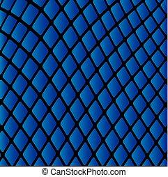 blauwe , model, abstract, vector