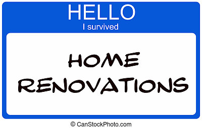 blauwe , naam, suvived, label, vernieuwingen, thuis, hallo